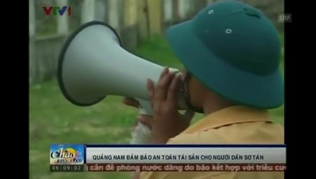 Video «Vietnam erwartet den Taifun» abspielen