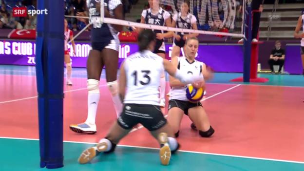 Video «Volero verpasst Rang 3 («sportpanorama»)» abspielen