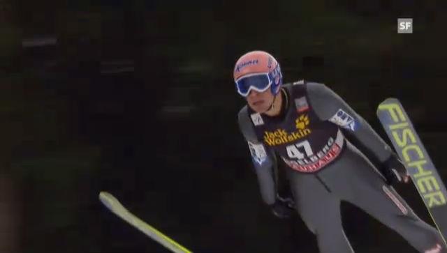 Skispringen: 2. Sprung Andreas Kofler («sportlive»)