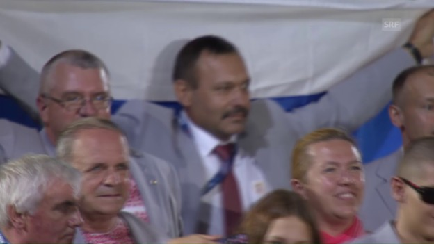 Video «Paralympics: Russen-Flagge in Weissrussland-Delegation» abspielen