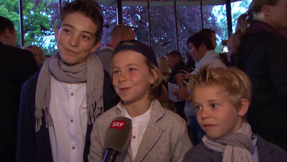 Familiäre Liebeserklärung an Sven Furrer