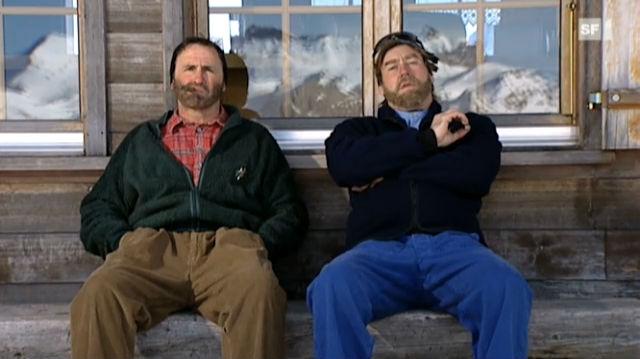 Pesche und Kevin über Essen