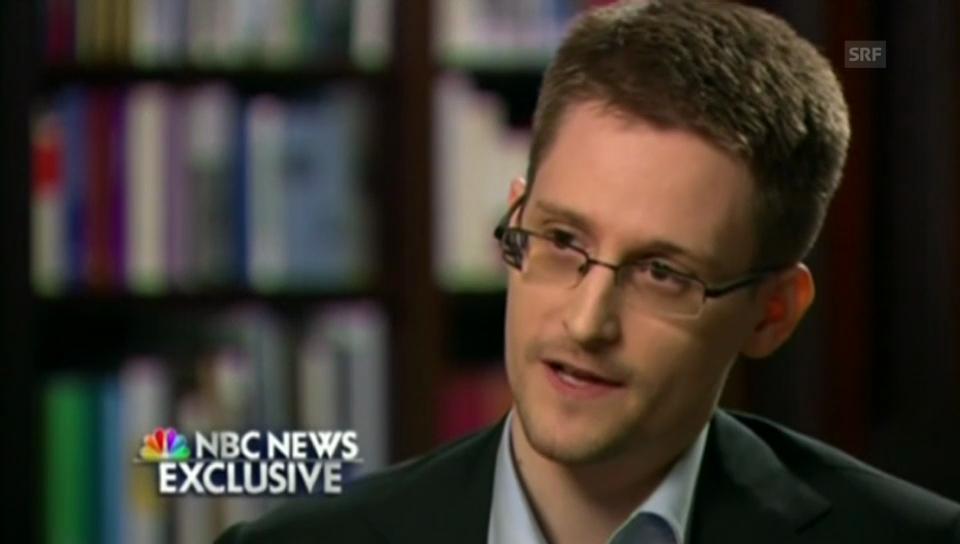 Edward Snowden im Interview mit US-Sender (englisch)