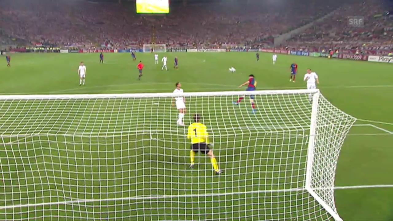 2009: Kopftor gegen Manchester United