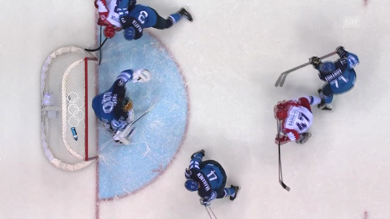 Eishockey: Zusammenfassung Russland-Finnland (19.02.2014)
