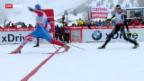 Video «Langlauf: 15 km klassisch in La Clusaz» abspielen