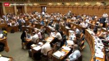 Video «Finanzplatzdebatte im Nationalrat» abspielen