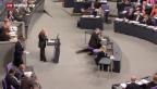 Video «Bundestag stimmt Hilfspaket für Griechenland zu» abspielen
