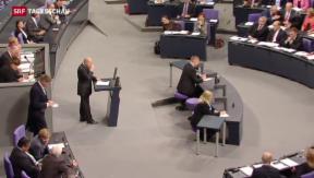Video «Bundestag stimmt Hilfspaket für Griechenland zu » abspielen
