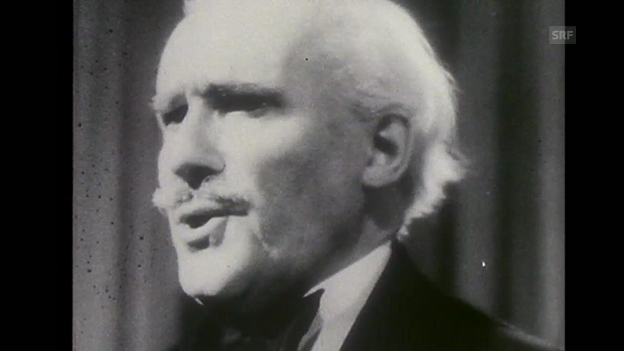 «In Memoriam Arturo Toscanini», Tagesschau, 30.12.1957