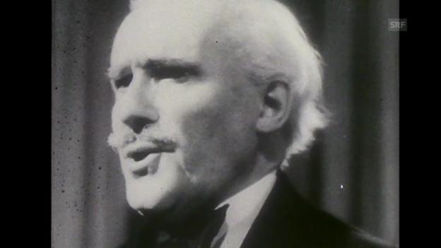 Video ««In Memoriam Arturo Toscanini», Tagesschau, 30.12.1957» abspielen