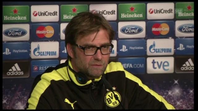 Fussball: BVB-Trainer Klopp vor dem Real-Spiel