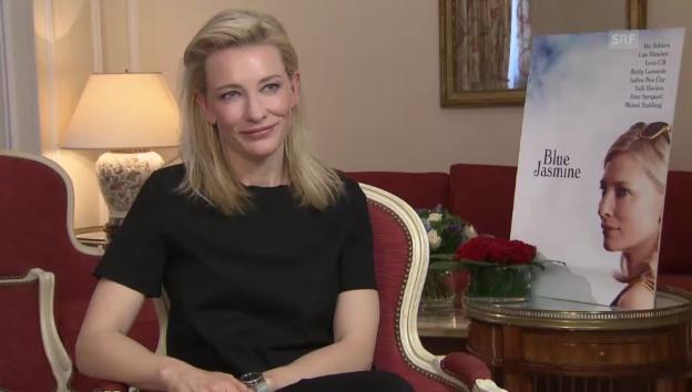 Video «Cate Blanchett über ihren neuen Film – und die Schweiz» abspielen