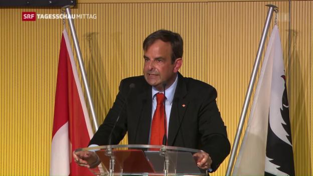 Video «CVP-Delegiertenversammlung in Appenzell» abspielen