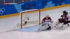 Video «Schweizer Eisgenossinnen im Viertelfinal» abspielen