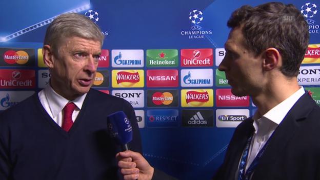 Video «Interview mit Arsene Wenger» abspielen