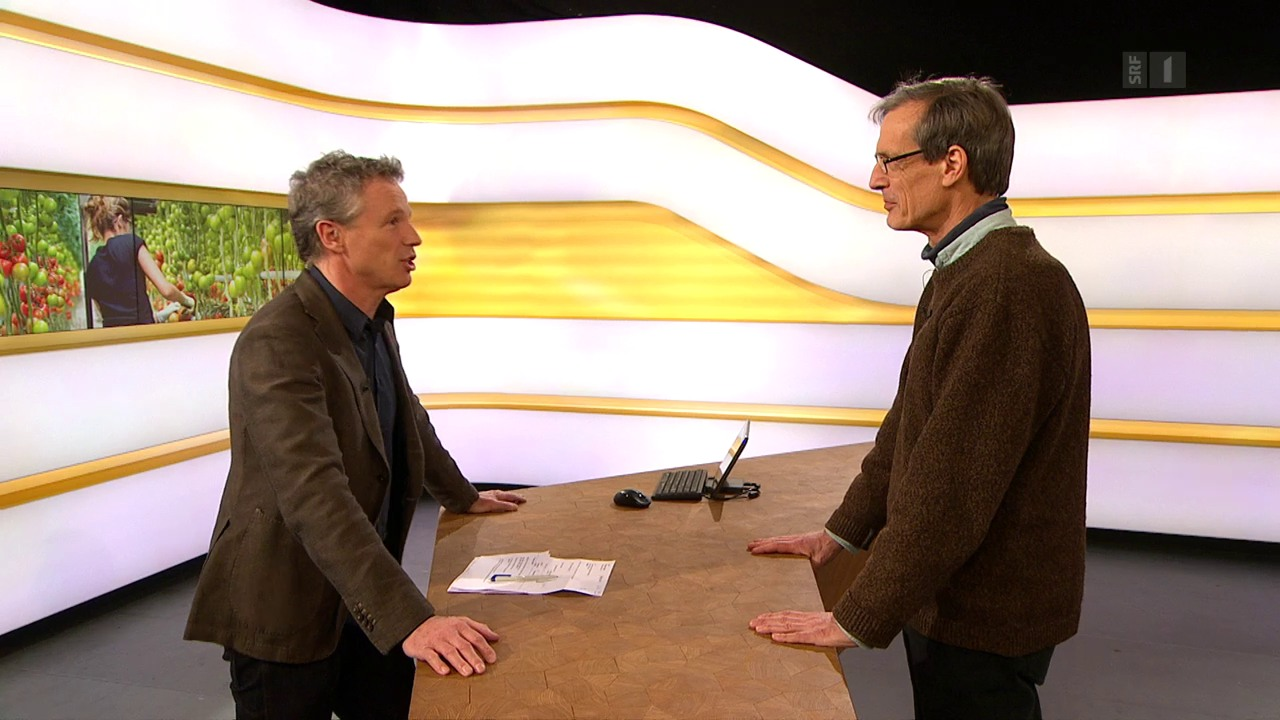 Studiogespräch mit Raymond Gétaz vom Europäischen BürgerInnenforum EBF