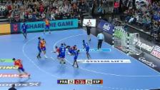 Link öffnet eine Lightbox. Video Frankreich besiegt Spanien abspielen