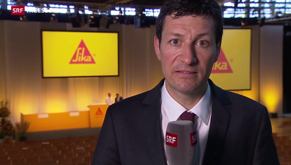 Tobias Bossard zur Generalversammlung