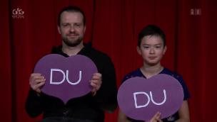 Video ««Ich oder Du»: Franco Knie junior mit Sohn Chris Rui» abspielen