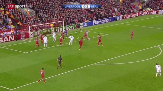 Video «Fussball: CL, Liverpool - Real Madrid» abspielen