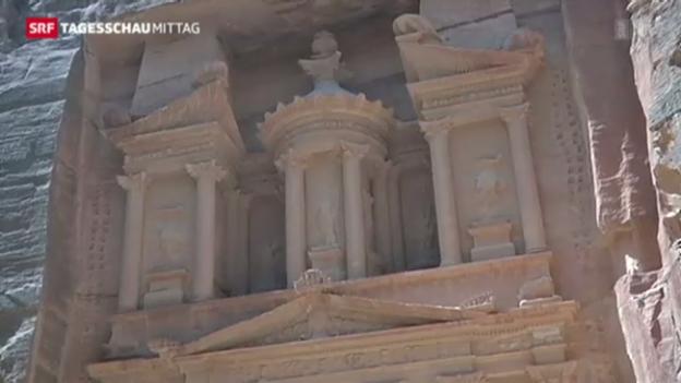 Video «Obama besucht Petra» abspielen