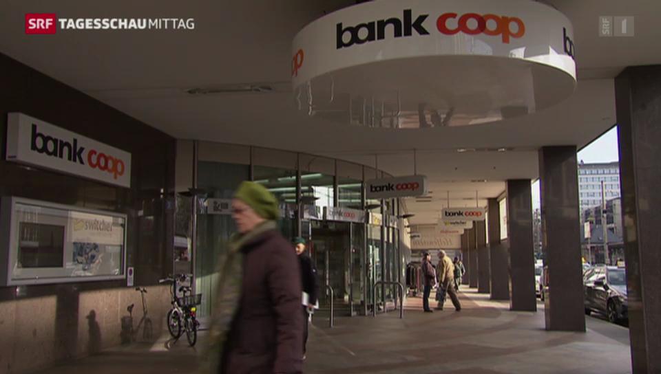 Die Finma sanktioniert die Bank Coop