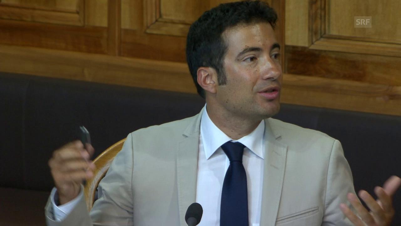 Caroni: «Keine Carte Blanche für Journalisten»