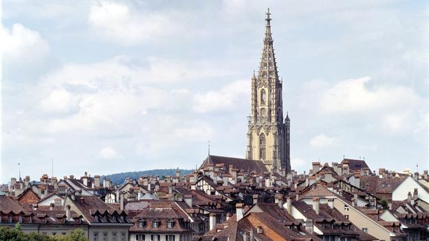 Glockengeläut des Münsters in Bern