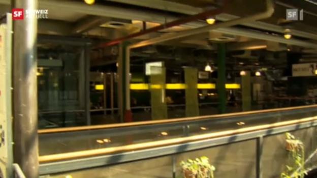 Video «Markthalle Bern: Alle müssen raus» abspielen