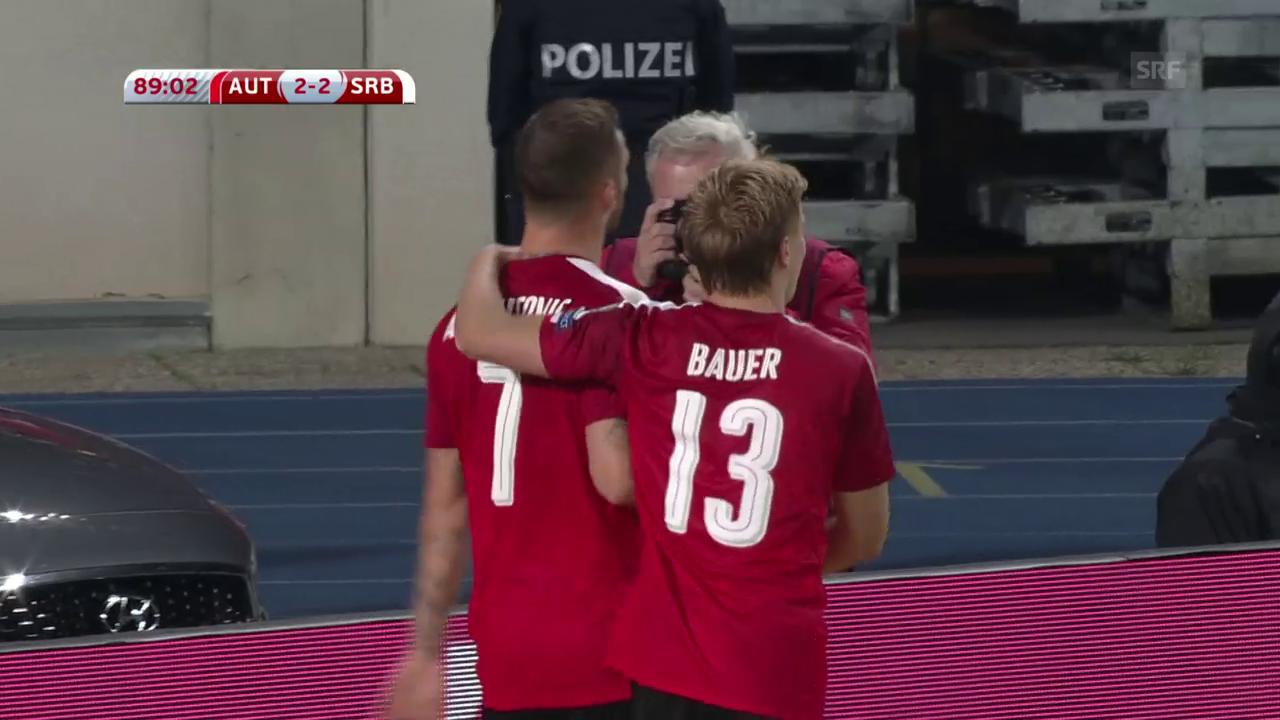 Österreich mit Heimsieg gegen Serbien