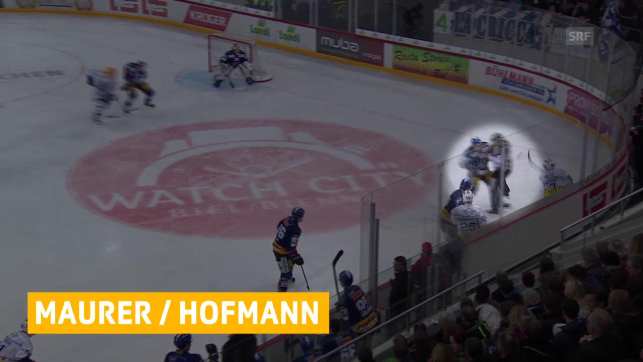 Spielsperren für Maurer und Hofmann