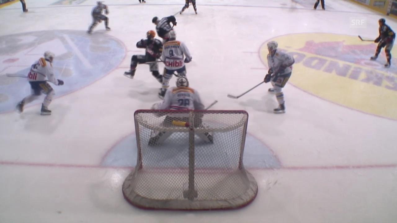Eishockey: Playoff-Halbfinal, Fribourg-Gottéron - Kloten Flyers