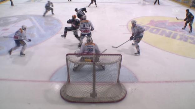 Video «Eishockey: Playoff-Halbfinal, Fribourg-Gottéron - Kloten Flyers» abspielen