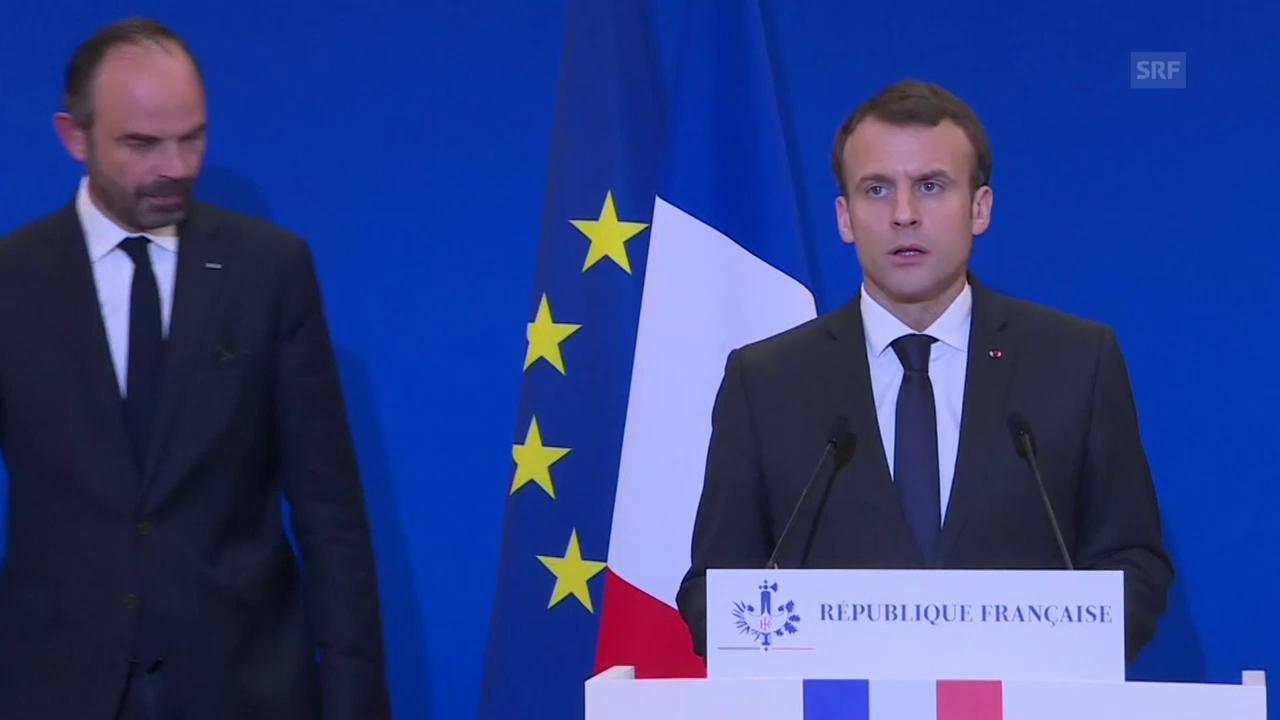 Macron zur Geiselnahme