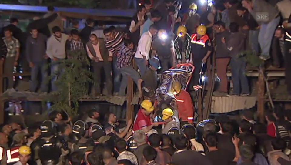 Dramatische Rettungsszenen in der Türkei