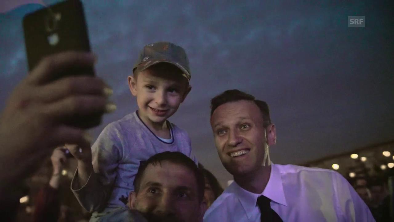 Alexej Nawalny: «Ich kämpfe für eine neue Zukunft»