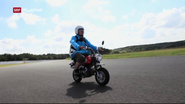 Video «Achtung! Experiment: Ein Motorrad unter Druck (2/52)» abspielen