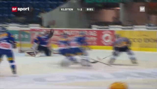 NLA: Kloten - Biel