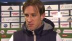 Video «Fussball: Super League, Basel - Sion, Reto Ziegler im Interview» abspielen
