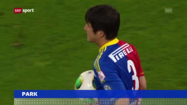 Video «Fussball: Joo Ho Park verlässt den FC Basel» abspielen