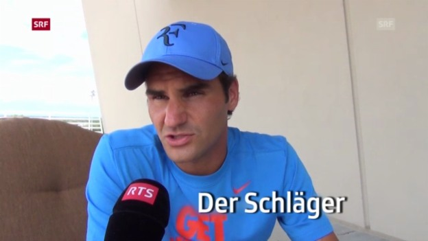 Video «Tennis: Roger Federer vor dem Turnier in Cincinnati («sportpanorama»)» abspielen