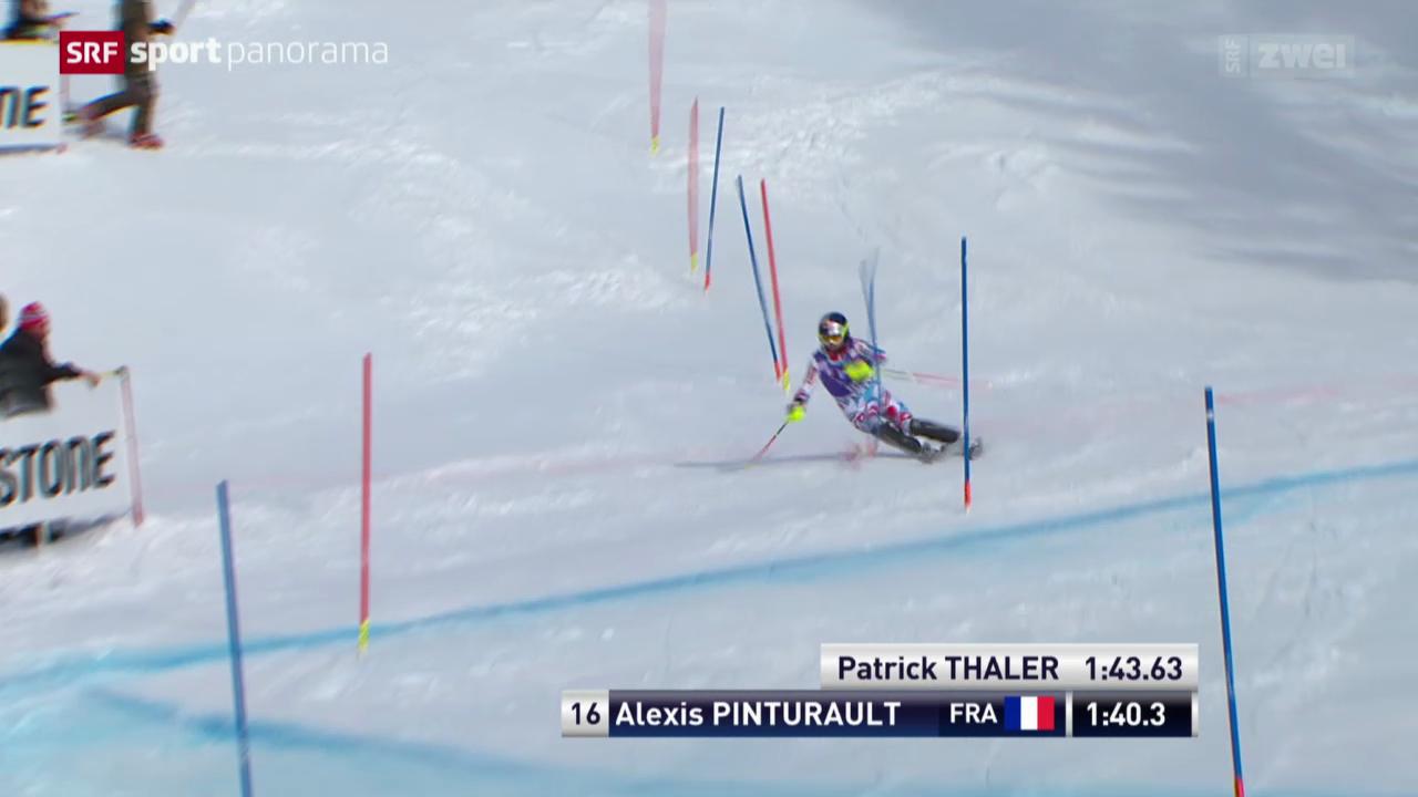 Ski: Weltcup-Slalom der Männer in Wengen