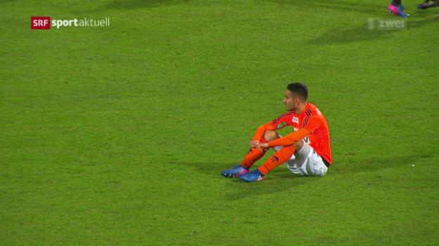 Video «Lausanne bleibt auch gegen Lugano sieglos» abspielen