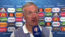 Video «Deschamps: «Wir werden unsere Chance haben» (französisch)» abspielen