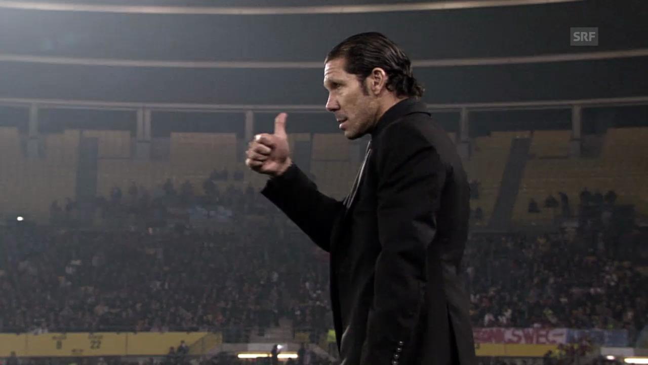 Fussball: Porträt über Atletico-Trainer Diego Simeone