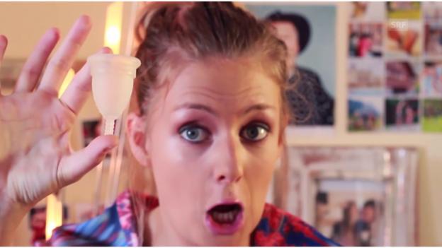 Video «Die Menstruationstasse gibt im Internet zu Reden» abspielen