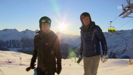 Link öffnet eine Lightbox. Video Hüppi & Russi: Das eingespielte Duo tritt ab abspielen