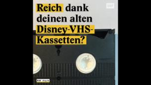 Video «Alte Disney-VHS-Kassetten werden auf Ebay verhökert» abspielen