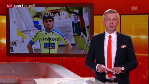 Video «Rad: Oliver Zaugg verletzt» abspielen